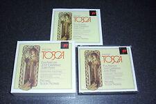 **RARE** SONY S2K 45847 2CD Box Set: PUCCINI Tosca:MARTON:CARRERAS:TILSON-THOMAS