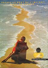Publicité Advertising 1982  Parfum  CHOC de PIERRE CARDIN