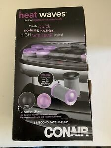 Conair CHV14X Heat Waves Electric Heated 2 Sizes Jumbo & Super Curling Rollers