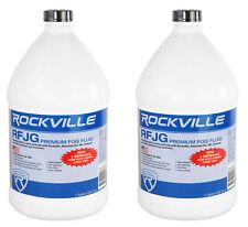 2) Rockville Rfjg Gallons Fog/Smoke Juice Fluid For Chauvet/American Dj Machines
