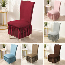 Chair Cover Stretch Elastic Seat Couch Slipcover Dining Room Hotel Wedding Party