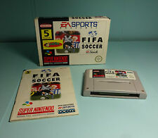 Fifa International Soccer ( OVP & Anleitung ) Super Nintendo Snes