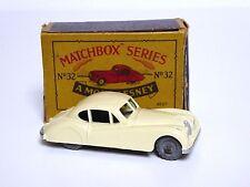 Matchbox Lesney No.32a Jaguar XK140 In Type 'B2' Series MOKO Box