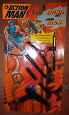 Action Man armi Ninja Set Weapons Accessory Sword Crossbow Spada Balestra Hasbro
