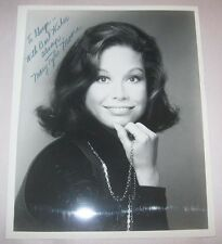 Mary Tyler Moore Autographed Publicity Photo Signed Sorrentino's Burbank CA