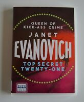 Top Secret Twenty-One: by Janet Evanovich:  MP3CD Audiobook