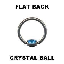 Lippenbändchen Piercing Ball Closure Titan mit Zirkonia* Stein