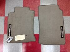 2005-2011 TACOMA ALL CABS FRONT CARPET FLOOR MATS-OAK BEIGE-GENUINE TOYOTA