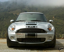 "Mini Cooper 14""  Center Rally stripes Stripe Graphics Fit All Model Bonnet Boot"