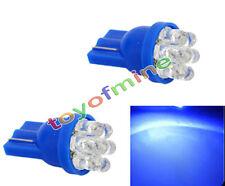 2x blu 7-LED T10 cuneo Lampadine auto 194 168 W5W 501