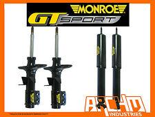 VT COMMODORE SEDAN - MONROE GT SPORT F&R LOWERED (SHORT) STRUTS/SHOCKS