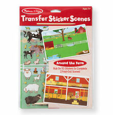 Melissa and Doug Transfer Sticker Scenes Around the Town  #9531