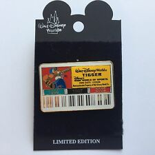 WDW - Cast ID Badge / Card Tigger Limited Edition LE 3500 Disney Pin 11753