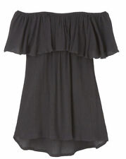 Size Regular Off-Shoulder Casual Tops and Blouses for Women