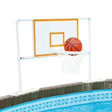 Basketball Set for For 10'-20' Metal Frame Above Ground Swimming Pool Summer Fun