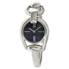 Gucci Horsebit Collection Swiss Quartz Silver-Tone Women's Watch YA139503