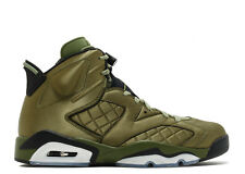 "Nike Air Jordan 6 Retro Pinnacle SNL ""Flight Jacket"" - Palm Green/Black"