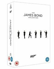 JAMES BOND 23 COMPLETE FILM COLLECTION DVD BOX SET NEW AND SEALED