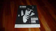 GEORGIE FAME GETAWAY ORIGINAL UK 1966 SHEET MUSIC