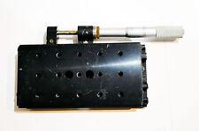 NRC Newport 440 Linear Stage With STARRETT Micrometer №63