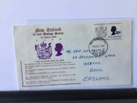 New Zealand 1970 10cent postage stamp souvenir stamps cover Ref R25927