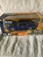 JADA 1/24 BIGTIME MUSCLE BLUE 1969 CHEVY CHEVELLE SS NEW IN BOX SUPER RARE!