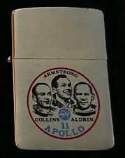 Mega Rare Vintage NASA APOLLO 11 ZIPPO Lighter, circa 1985