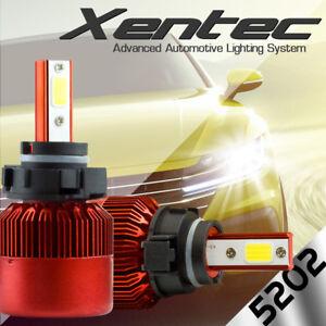 XENTEC LED HID 6000K Foglight 5202 12086 H16 2007-2013 Chevrolet Suburban 2500