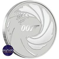 TUVALU 2020 - 1 dollar TVD - James Bond 007™ - 1oz (once) argent 999‰ - Bullion