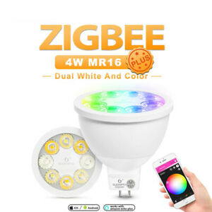 GLEDOPTO Zigbee RGB+CCT 4W MR16 Smart Led Spotlight Smart Home Color Change lamp