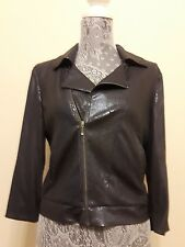 Cropped sequined jacket