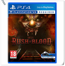 PSVR Until Dawn: Rush of Blood SONY PLAYSTATION Horror Action Games SCE