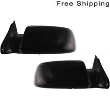 Lh & Rh Side Set Of 2 Manual Folding Non-Heated Mirror Fits Escalade Blazer