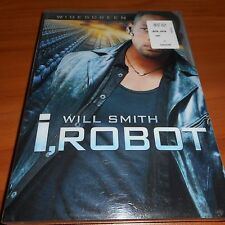 I, Robot (DVD, 2004, Widescreen) Will Smith, Donald Faison NEW