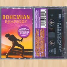 QUEEN Bohemian Rhapsody (The Original Soundtrack) CASSETTE Radio Ga Ga LIVE AID