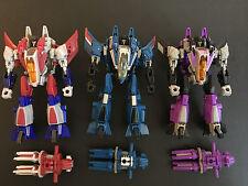 Transformers Fall of Cybertron Seekers - Starscream Thundercracker Skywarp