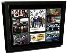 SNATCH CAST BRAD PITT SIGNED LIMITED EDITION FRAMED MEMORABILIA