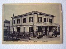 Cartoline Emilia Romagna Bellaria Rimini Pensione Modena Via Rubicone anni '40