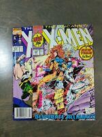 Uncanny X-Men 2 Book lot #278,281 Marvel Comics (1991)