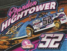 2016 Brandon Hightower Chevy Dirt Late Model NASCAR postcard