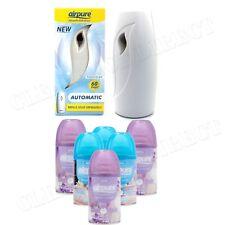6 X Airpure Freshmatic Automatic Spray Refills 250ml Fresh Linen Airwick Home