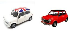 Mini Cooper 1300 1:24 Welly Die Casting (set of 2)