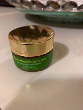 Tata Harper - Smoothing Body Scrub 100% Vegan Exfoliating .5 oz Deluxe Sample