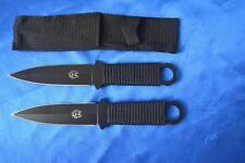 SHARP BRAND NEW DOUBLE EDGE NIJIA THROWING KNIFE SET