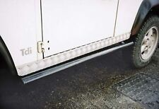 LAND ROVER DEFENDER 110 CHEQUER PLATE -ALUMINIUM  SILLS - RECOVERY BRAND RE576