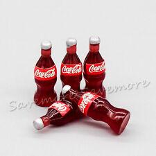 1:12 Dollhouse 5PCS Coke Cola Bottle Miniature Collectibles Accessory Decor Gift