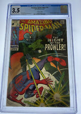 Amazing Spider-Man #78 CGC 3.5 OW/W pages 1969 Marvel Comics 1st app Prowler