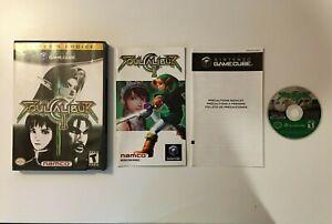 Soul Calibur II 2 [Player's Choice] (Nintendo Gamecube, 2003) Namco Bandai - CIB