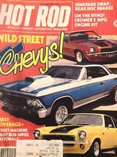 Hot Rod Magazine  Chevys Wild Street Rear Disc Brakes September 1981 122918nonrh