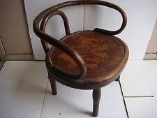 Rare ancien FAUTEUIL, chaise pour enfant - Bois - Style Thonet, Baumann - VB2072
